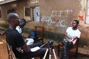 University interns skilling Gulu youth